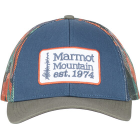 Marmot Retro Trucker Hat Denim/Crocodile
